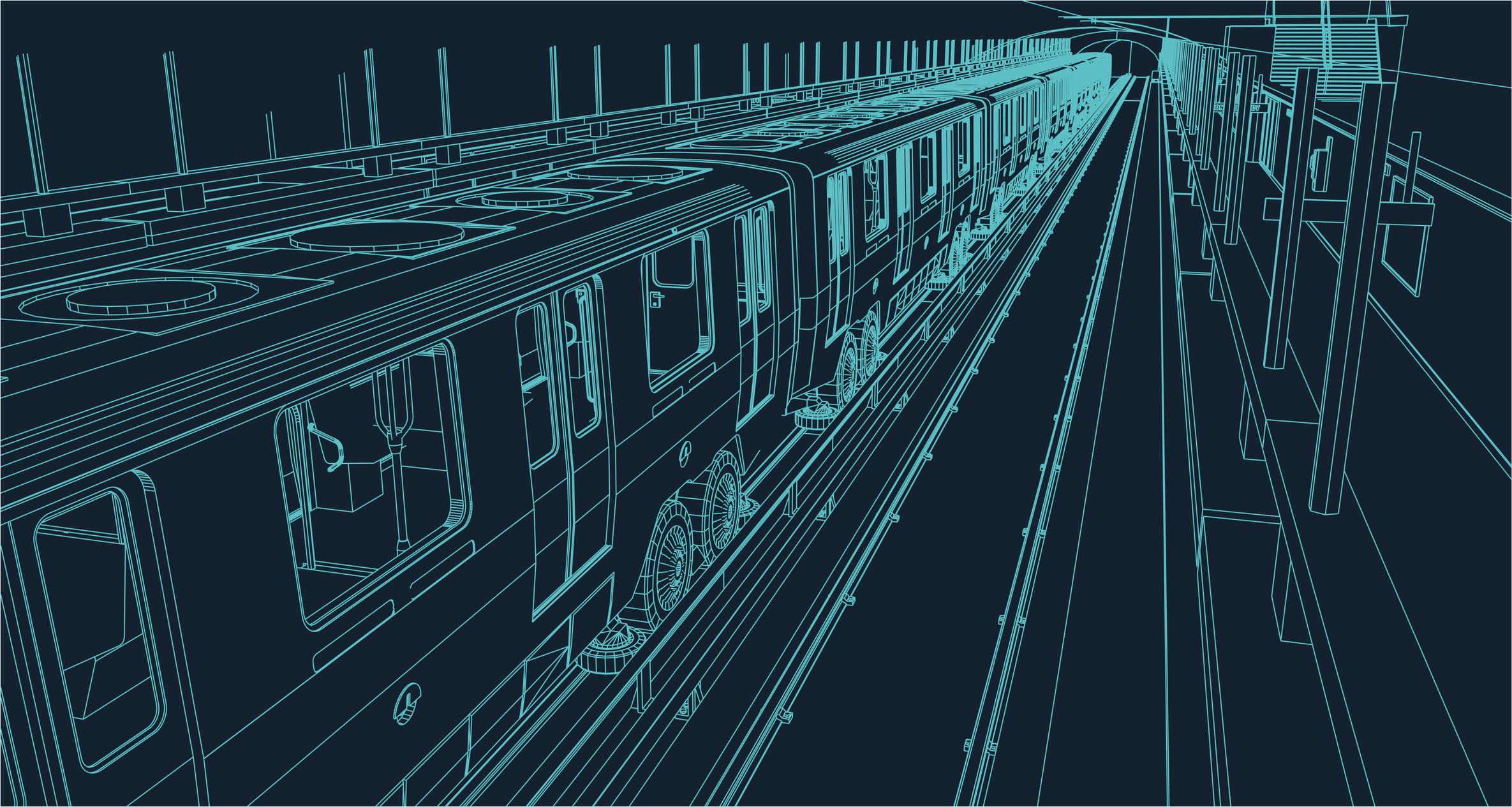 American Gods 2.2  The Beguiling Man - Der Zug fährt